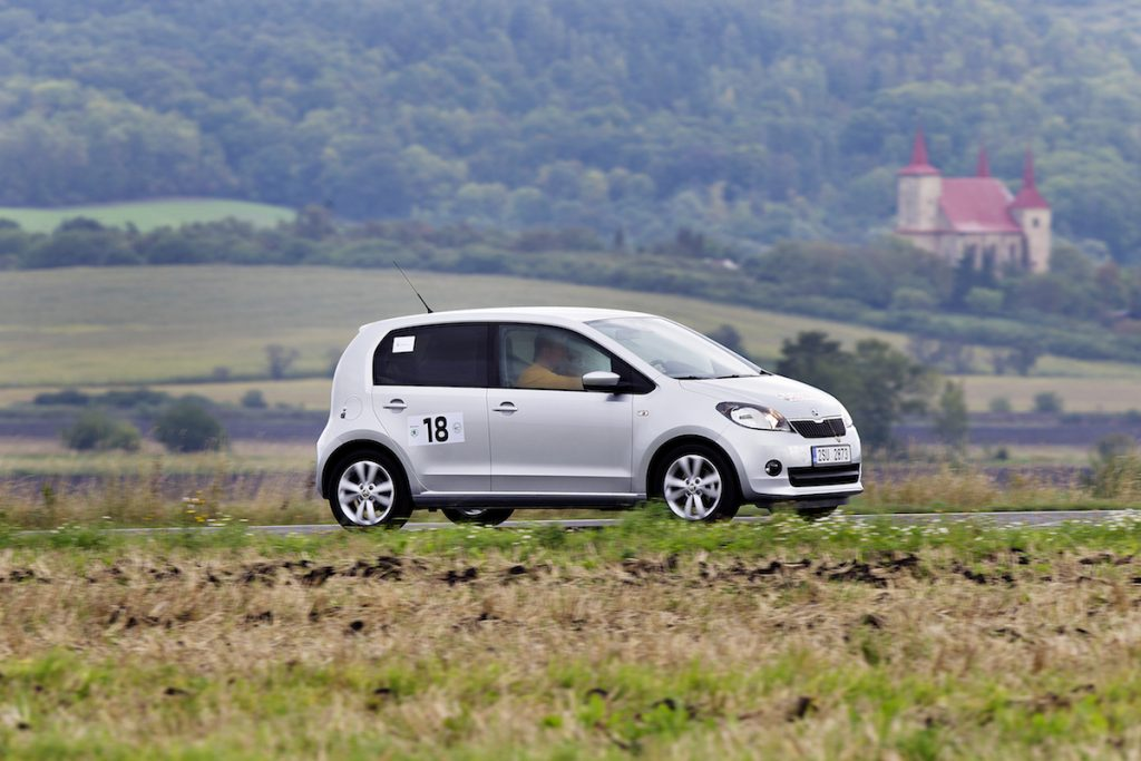 Na trase Škoda Economy Run 2013