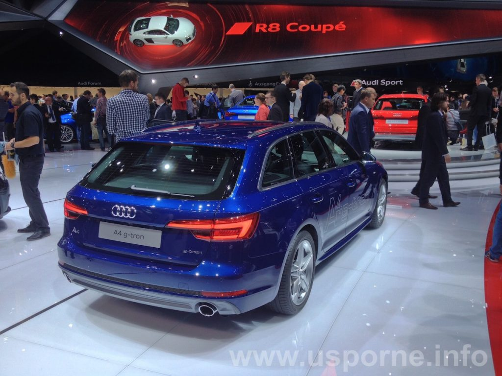 Audi A4 g-tron - zezadu