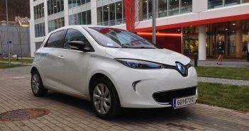 Elektromobil Renault ZOE - zepředu