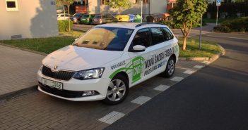 Škoda Fabia Combi CNG 1,0 MPI 50 kW - zepředu