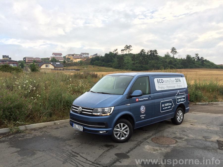 Volkswagen Transporter Gerharda Plattnera - zepředu