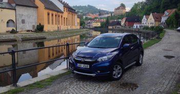 Honda HR-V - zepředu - Český Krumlov