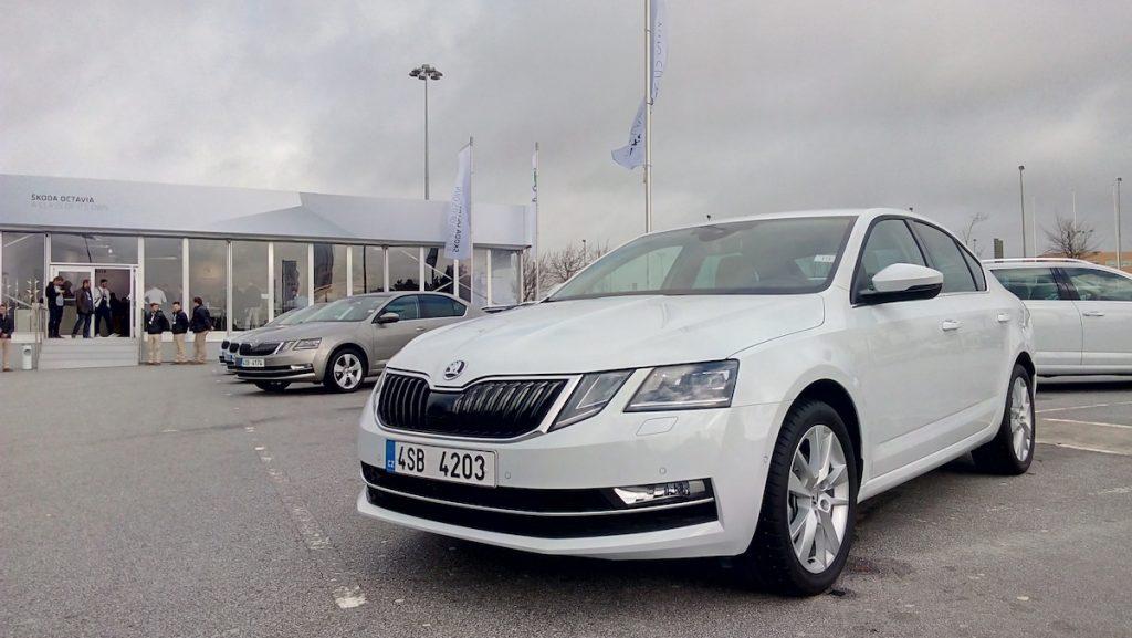 Nová Škoda Octavia 2017 G-TEC – zepředu