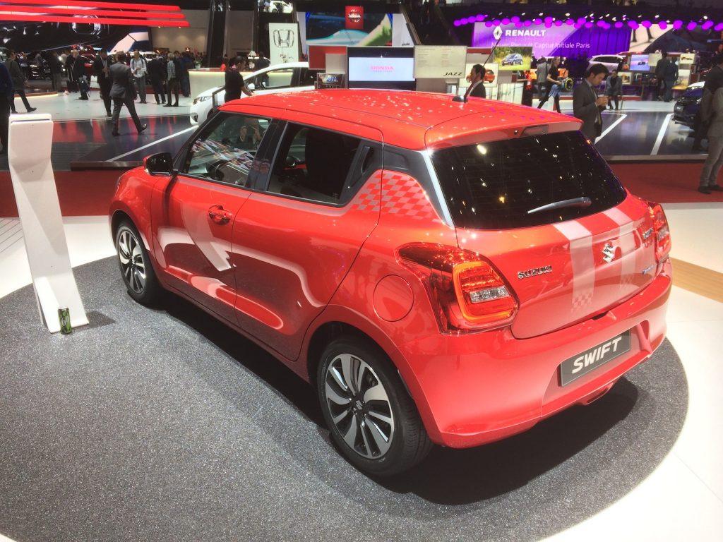 Nový Suzuki Swift SHVS 2017 (hybrid)