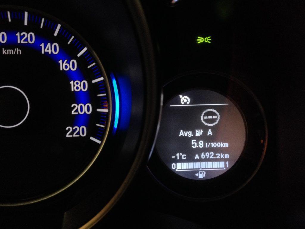Honda Jazz 1,3 i-VTEC 75 kW CVT - skutečná spotřeba