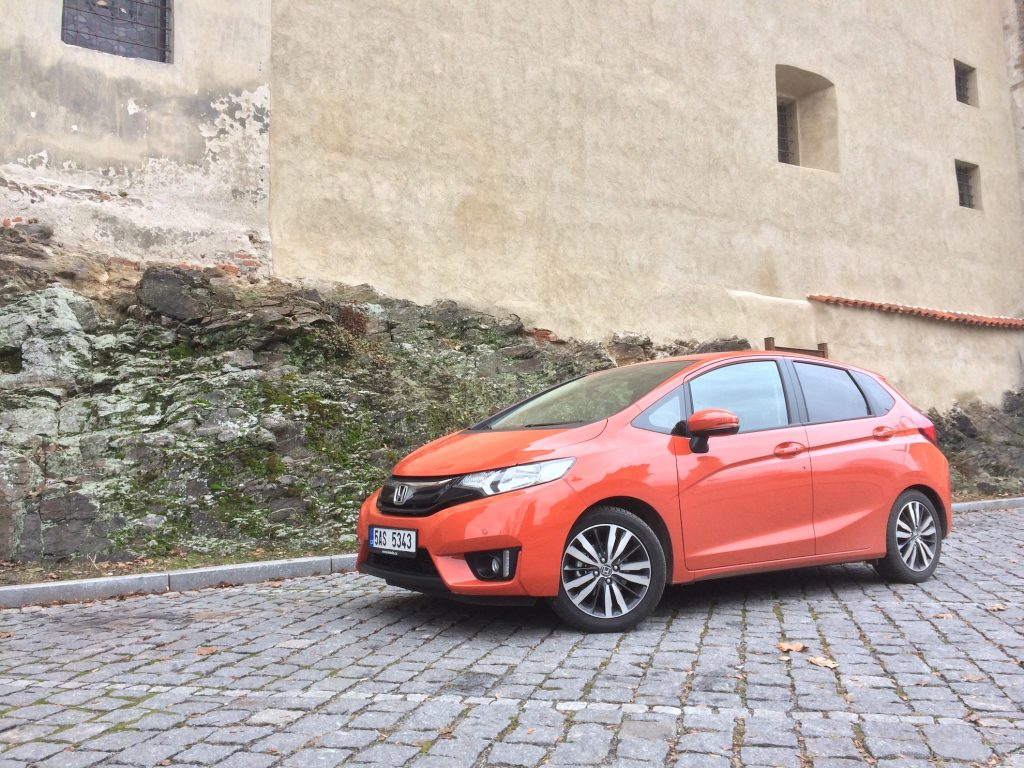 Honda Jazz 1,3 i-VTEC 75 kW CVT - zepředu