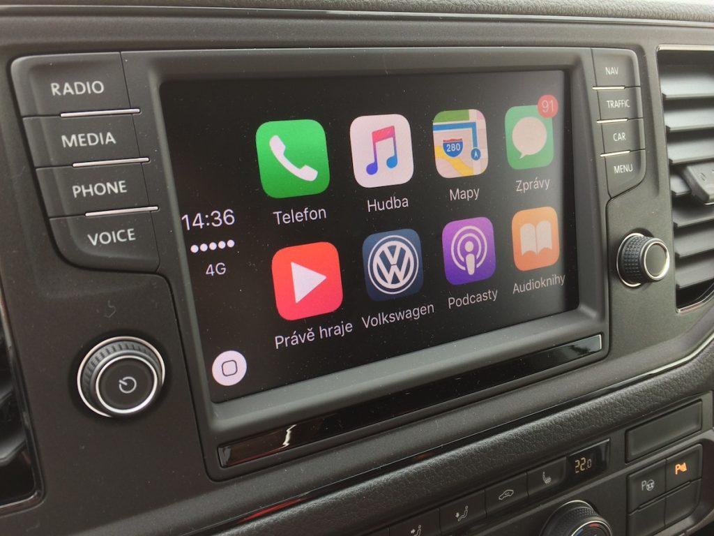 Volkswagen Crafter - infotainment