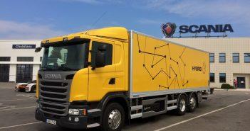 Scania P 320 Hybrid - zepředu