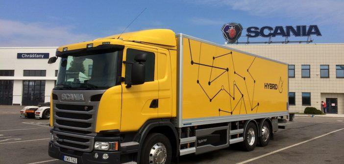 """Jak jezdí hybridní """"náklaďák"""" – Scania G320 Hybrid"""