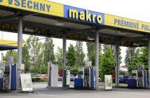 Čerpací stanice MAKRO s plnicí stanici na CNG