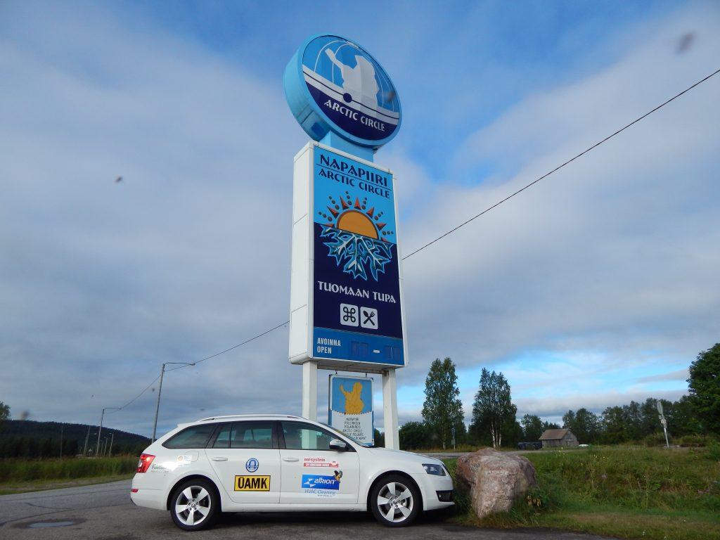 Polární kruh ve Finsku a Škoda Octavia 1,6 TDI 77 kW