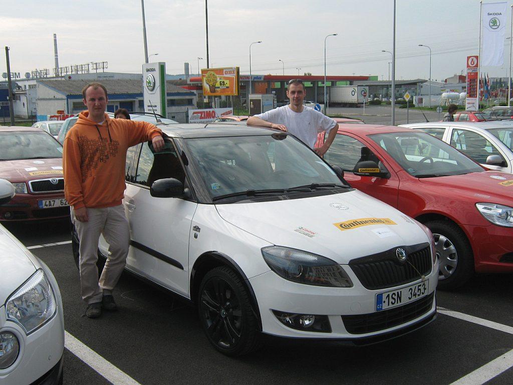Marek Tomíšek - David Kazda, Škoda EconomyRun 2011