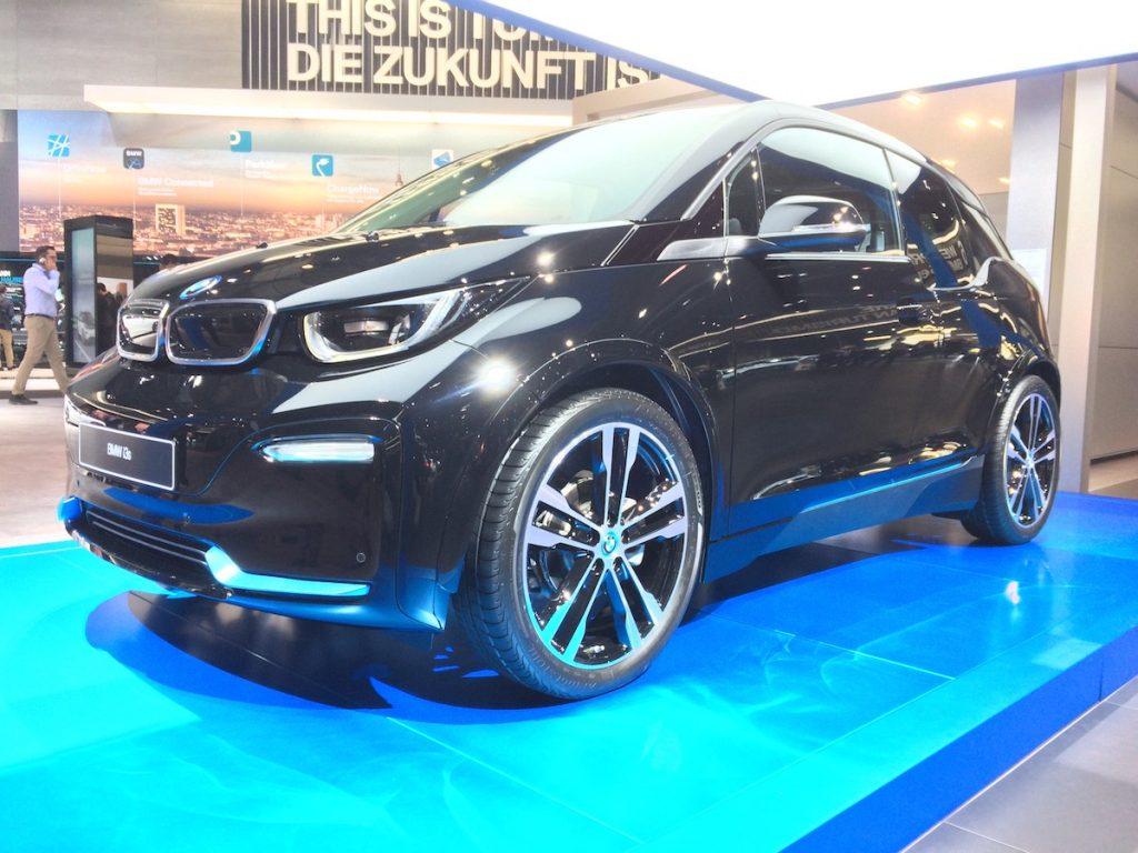 Nové BMW i3S - zepředu