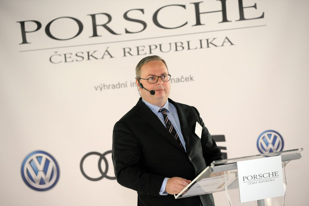 Vratislav Strašil - PORSCHE Česká republika