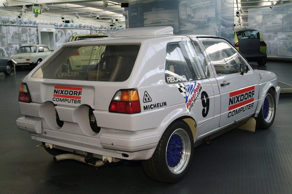 Speciál Volkswagen Golf z Pikes-Peak 1987