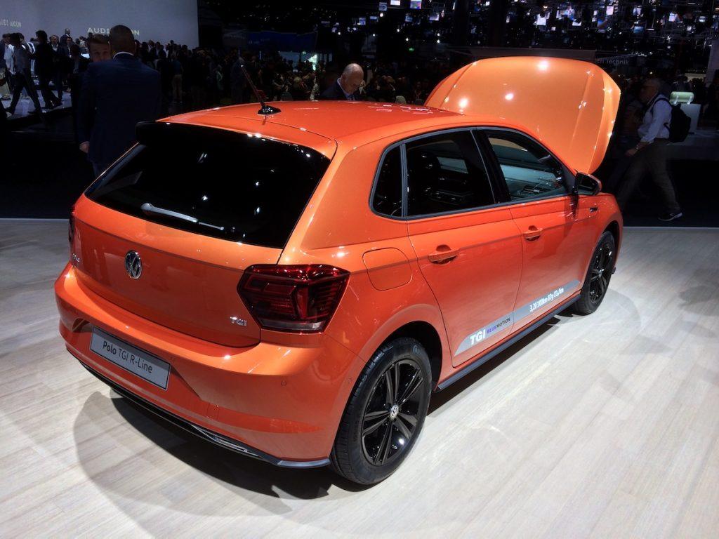 Volkswagen Polo 1,0 TGI 66 kW