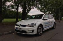 Volkswagen e-Golf (100 kW) - zepředu