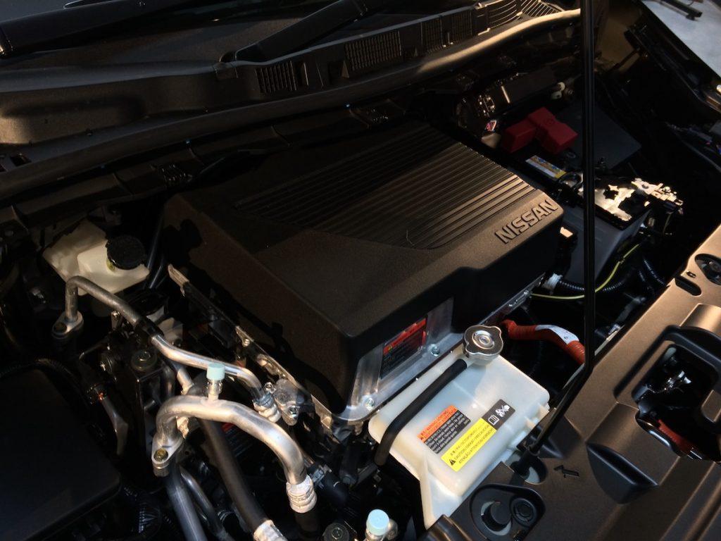 Nový Nissan Leaf 2018 - motor klasická koncepce