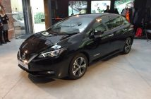 Nový Nissan Leaf 2018 - zepředu