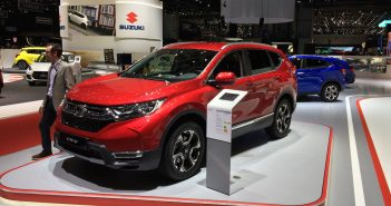 Honda CR-V i-MMD (hybrid) - zepředu