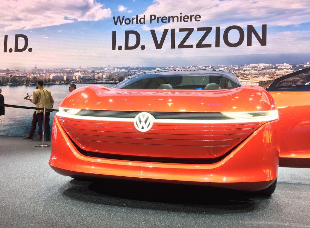 Volkswagen I.D.VIZZION - zepředu