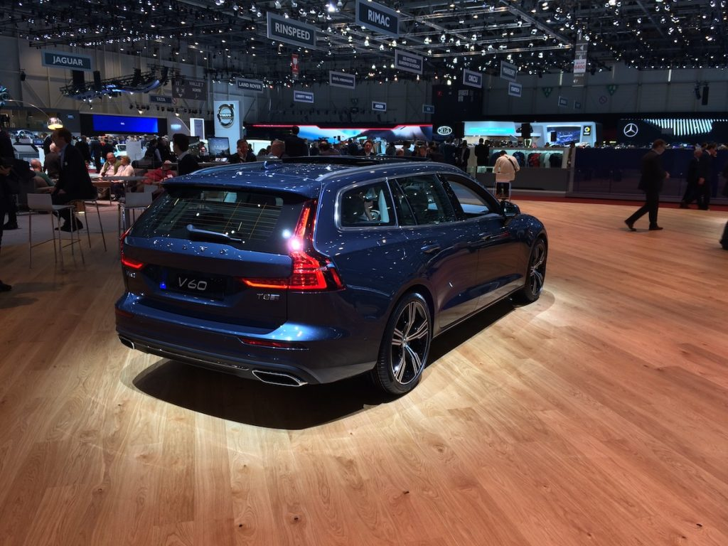 Volvo V60 - Ženeva 2018