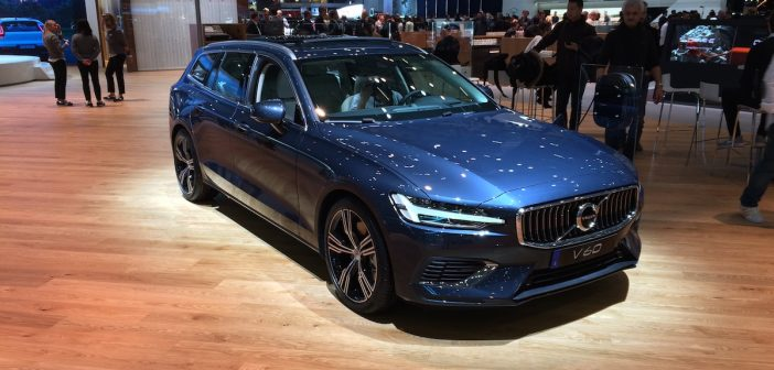 Volvo V60 Twin Engine AWD T6 a T8 – Ženeva 2018