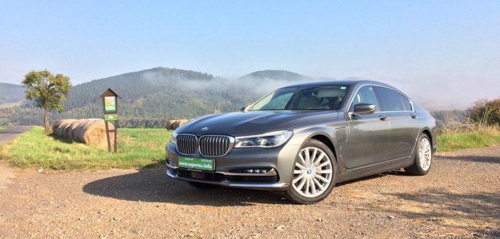 TEST: BMW 740Le iPerformance – skutečná spotřeba