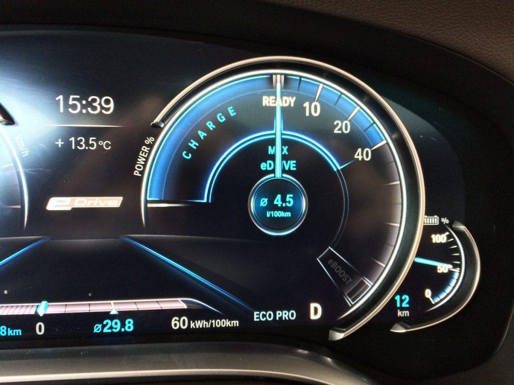 BMW 740Le iPerformance - MAX eDrive