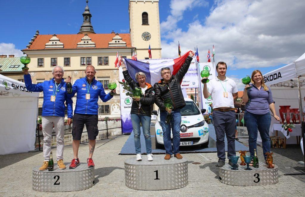 ECO Energy Rally Bohemia - stupně vítězů
