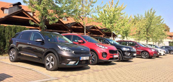 Benzínová SUV různých velikostí do města – kombinovaná spotřeba