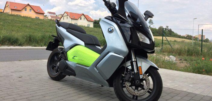 BMW C-evolution – elektrický skůtr – skutečná spotřeba