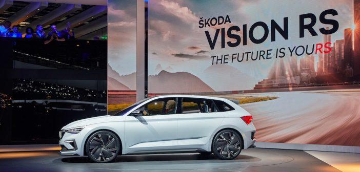 Autosalon Paříž 2018 – Škoda Vision RS, sportovní plug-in hybrid