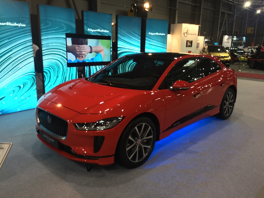 e-Salon 2018 - Jaguar I-PACE