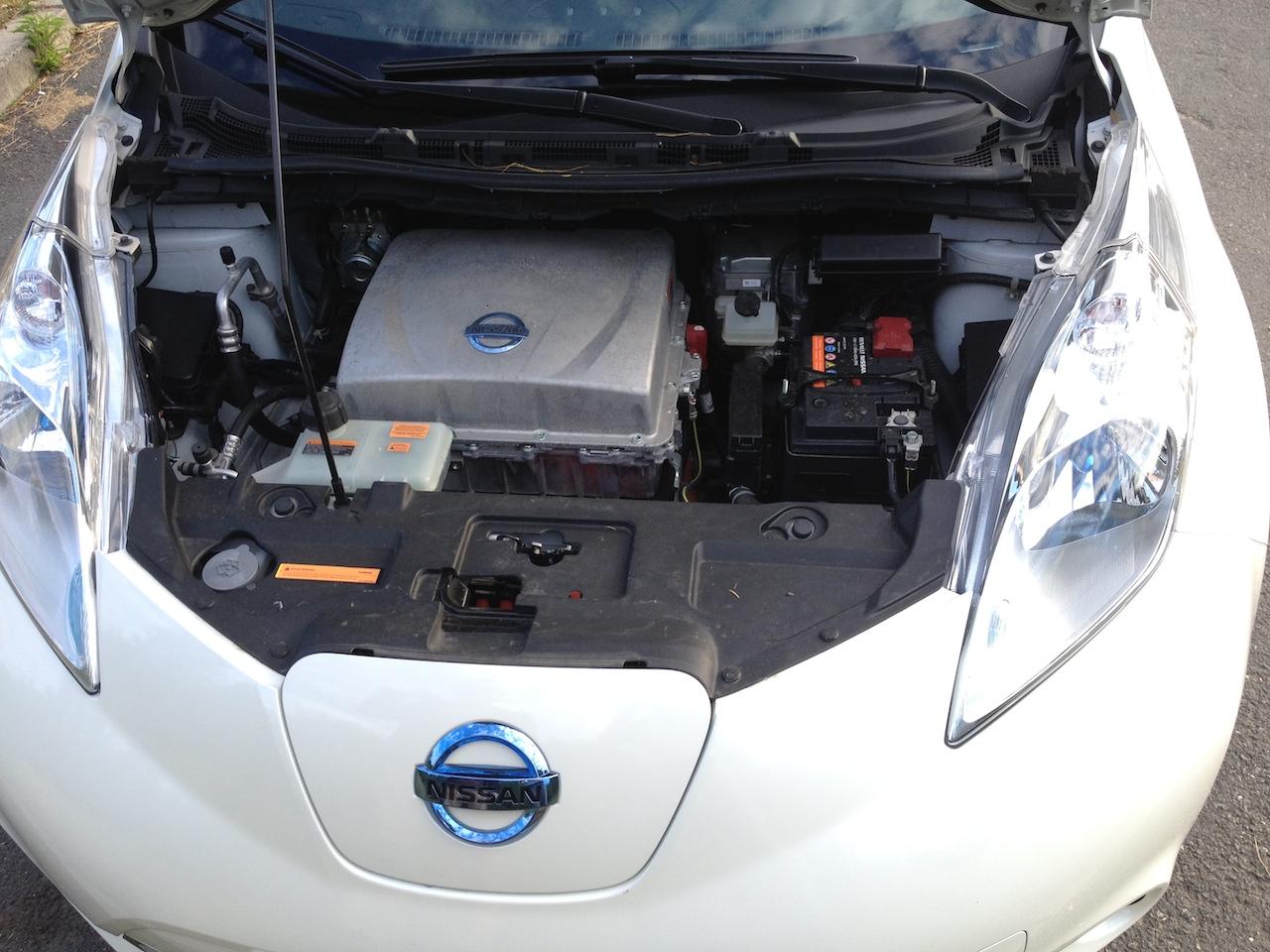 Motor elektromobilu Nissan Leaf