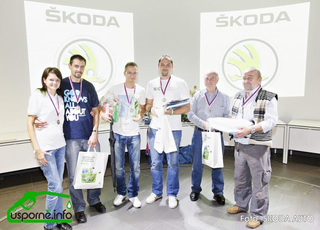 Bronzová madaile MEDIA - EconomyRun 2014