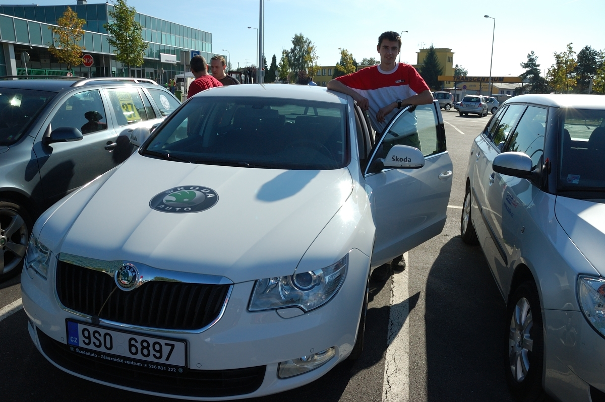 Škoda EconomyRun 2009, Superb GreenLine
