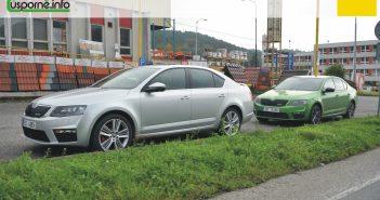 Obě Octavie RS před startem
