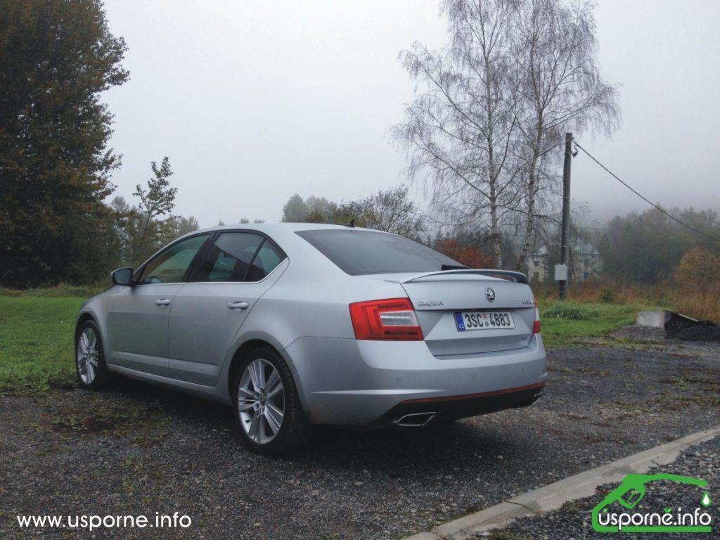 Škoda Otavia RS zezadu