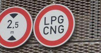 Zákaz vjezdu LPG/CNG