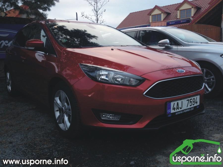 Nový Ford Focus zepředu