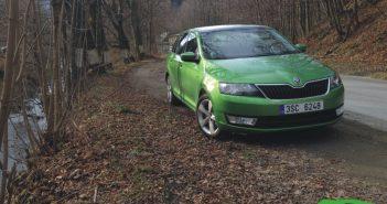 Škoda Rapid TSI zepředu
