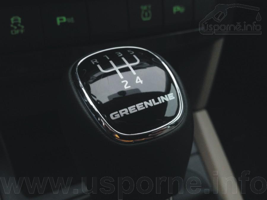 Škoda Yeti GreenLine, pouze pětistupňová převodovka