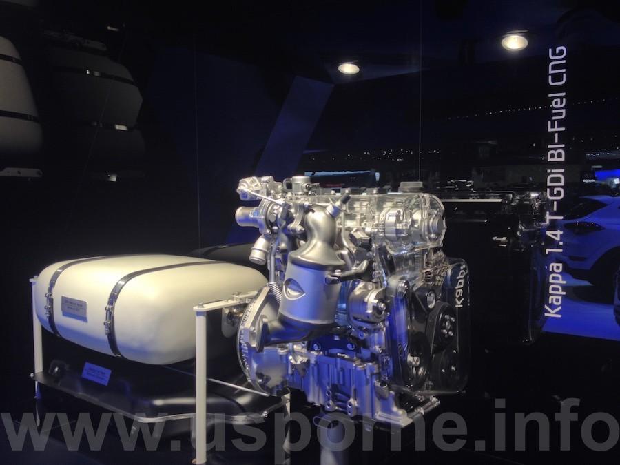 Hyundai 1,4 T-GDi Bi-Fuel CNG