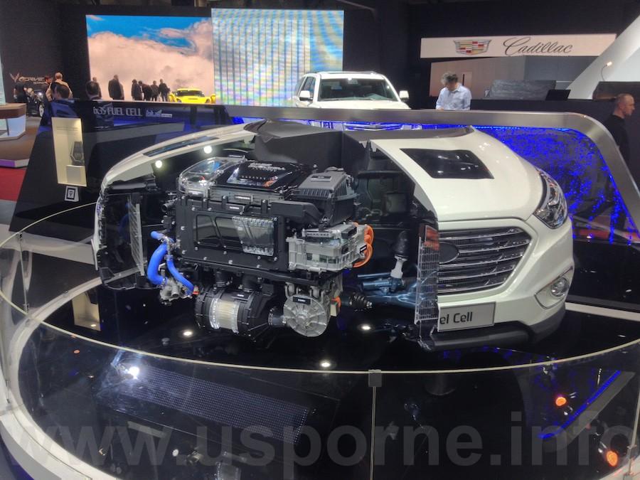 Hyundai ix35 Fuel Cell - motor