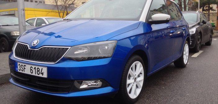 Nová Škoda Fabia 1,0 MPI 44 kW zepředu