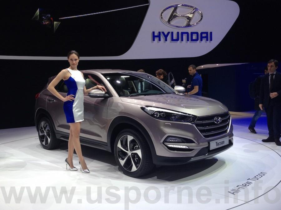 Nový Hyundai Tucson - Ženeva 2015