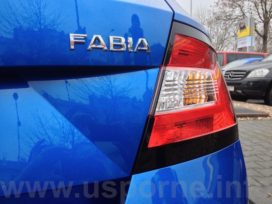 Škoda Fabia 1,0 MPI 44 kW - bez označení motorizace