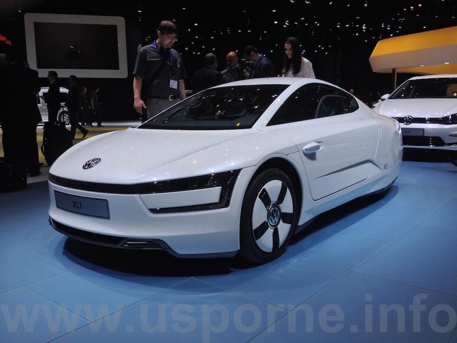 Volkswagen XL1 - zepředu