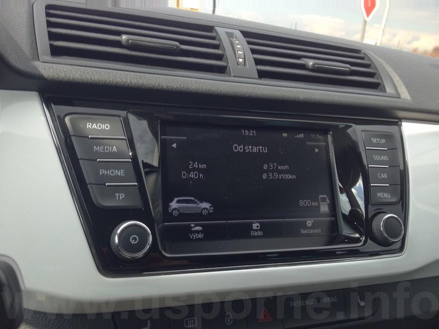 Škoda Fabia 1,4 TDI - jedna ze dvou nejdelších jízd po Praze, obě byly se stejnou spotřebou